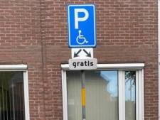 Excuses van Oisterwijk voor parkeerboete op snel opgeheven invalidenplek
