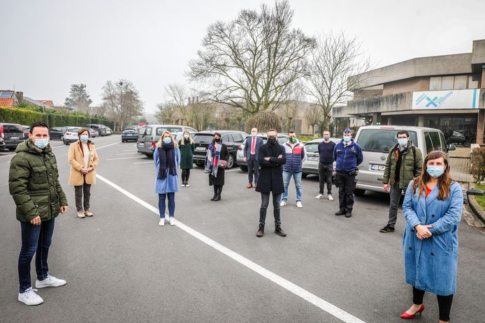 Diverse scholen stappen in het traject verkeersveilige scholen in Oostende.