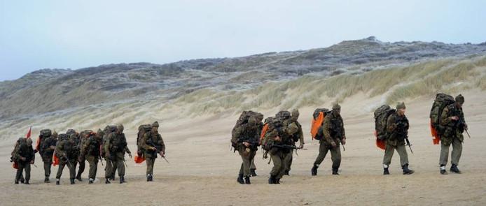 Standaard onderdeel van de training is nog altijd de zware Elementraire Commando Opleiding.