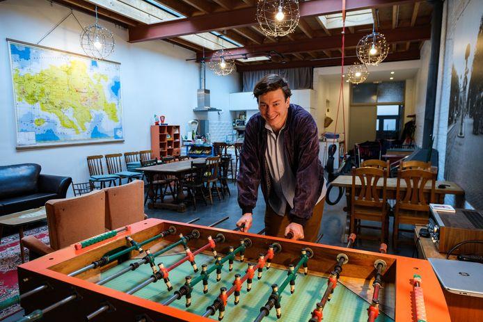 Jan Masereel (39) organiseert met zijn bedrijf Content'ment teambuildings en groepsactiviteiten die zich niet online afspelen maar wel coronaproof zijn.