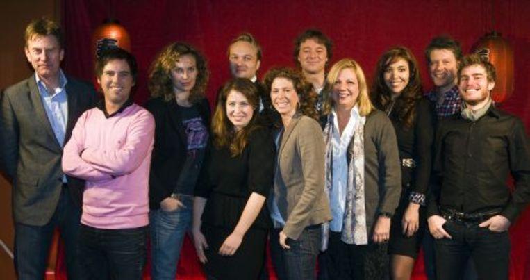 De deelnemers van Wie is de Mol? 2010. ANP Beeld