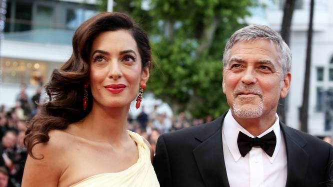 Vrouw van George Clooney dan toch niet in verwachting