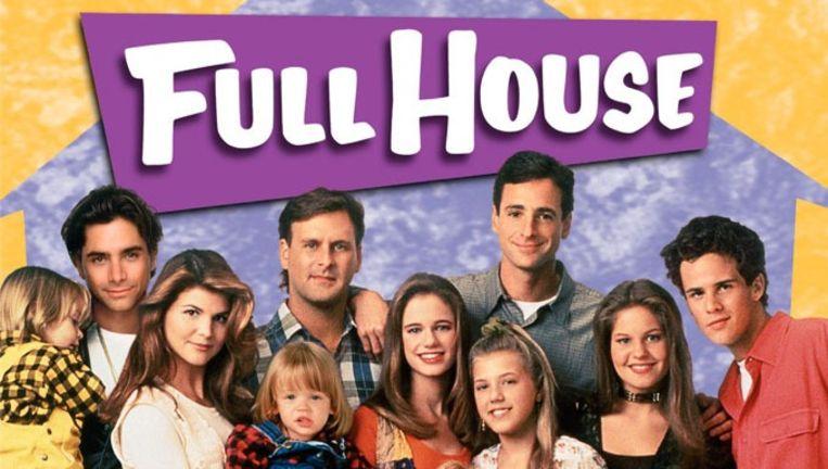 De cast van de originele Full House-serie. Beeld Full House