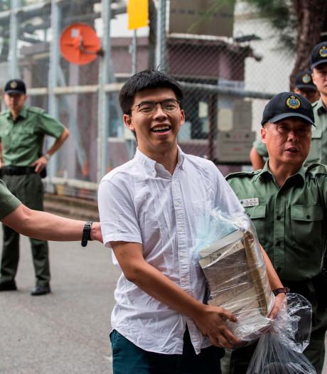 Vrijgelaten activist wil snel deelnemen aan nieuwe protesten in Hongkong