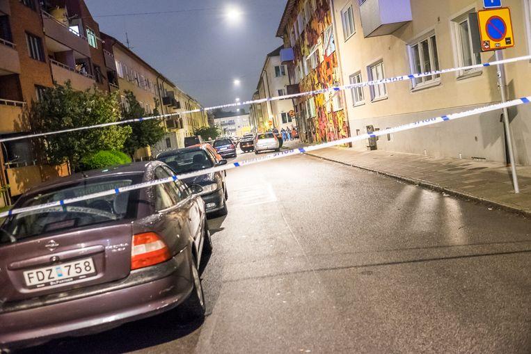 In Malmö vonden in 2017 gemiddeld vijf à zes schietpartijen per maand plaats. Beeld NurPhoto via Getty Images