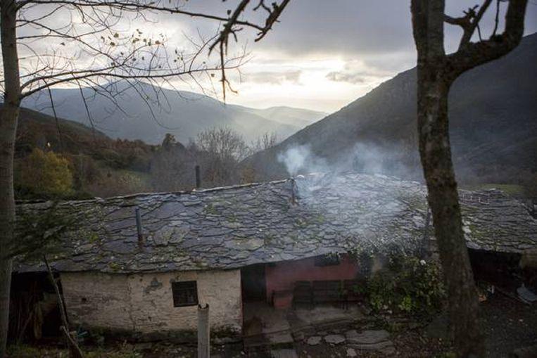 Het huis van de buren, de familie Rodriquez. Beeld Julius Schrank