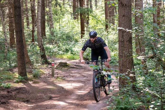 Om de kosten voor het onderhoud van de mtb-routes op de Veluwe te betalen, wordt nagedacht over invoering van een mountainbikevignet.