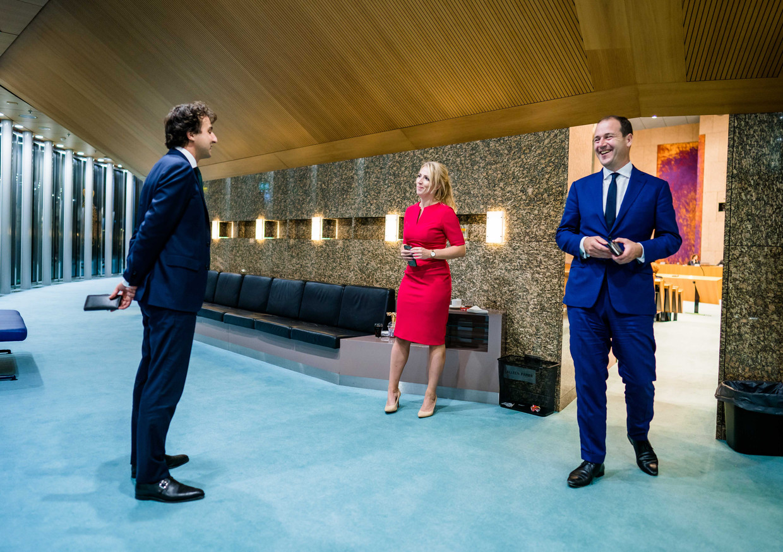 De gezichten van de linkse oppositie de afgelopen jaren: Jesse Klaver, Lilian Marijnissen en Lodewijk Asscher.