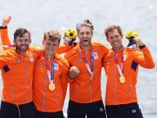 Enorme ontlading bij gouden roeier Metsemakers uit Nijmegen na heroïsche race én coronaperikelen: 'We hadden iedere dag stress'
