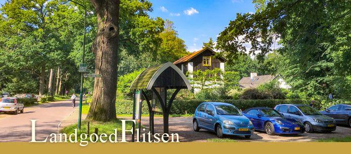Eind april worden de parkeerplekken bij de historische buitenplaats in Den Treek opgeheven.