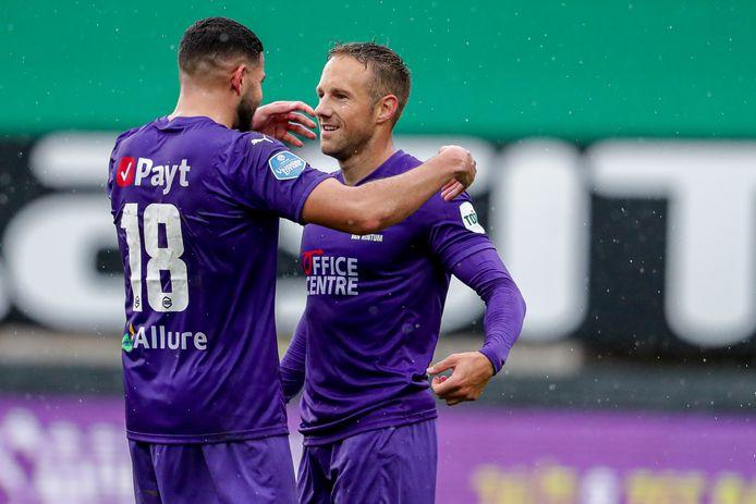 Bart van Hintum is met een doelpunt en vier assists de man in vorm bij FC Groningen.