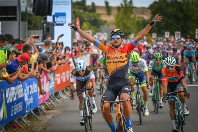 Colbrelli won in de Route d'Occitanie.