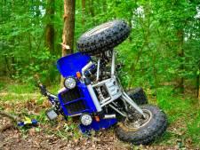 Man zwaargewond door ongeval met quad in bossen Heeze