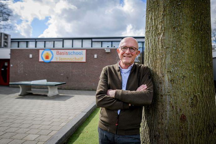Harrie Raanhuis neemt donderdag afscheid als directeur van school  't Iemnschelf
