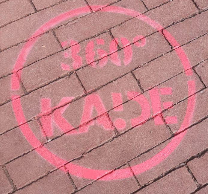 Het logo van 360° KADE.