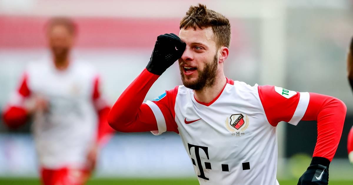 Ramselaar voelt zich bij FC Utrecht makkelijk slachtoffer: 'Misschien moet ik grotere mond hebben' - AD.nl