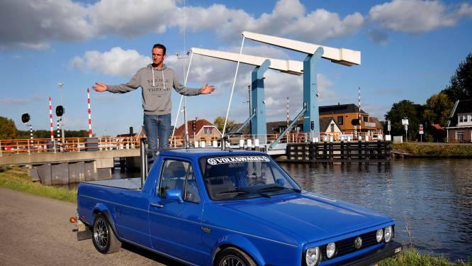 Kraanmachinist Arjan (28) kocht de kleinst mogelijke pick-up en ging er pas na drie jaar sleutelen mee rijden