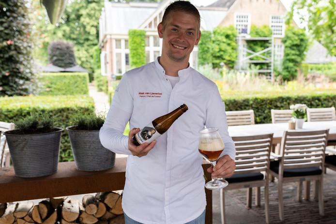 Heerlijke Hendrik is volgens chefkok en (mede)-eigenaar van Kasteel Maurick een echt kasteelbier.