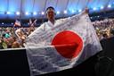 Kazunori Takishima op de Olympische Spelen in Rio.