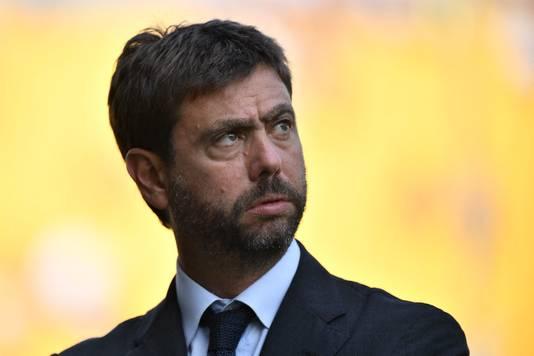 Andrea Agnelli, voorzitter van Juventus.