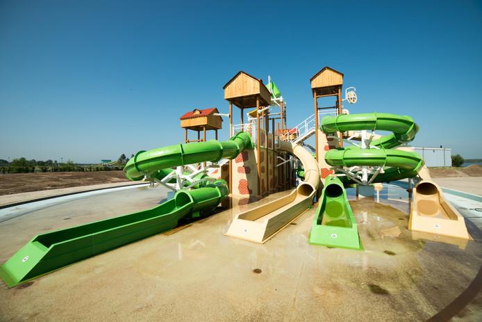 Het nieuwe waterpark van het Dolfinarium in Harderwijk.