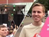 Honderden demonstranten trekken al dansend door centrum Breda: 'We vallen buiten de boot'