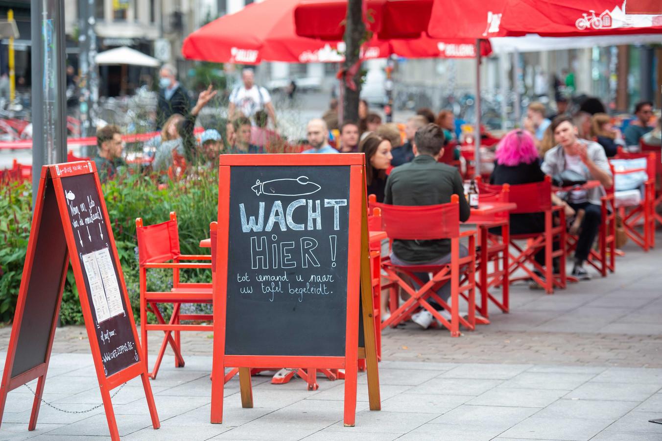 Een horecagelegenheid in Antwerpen.