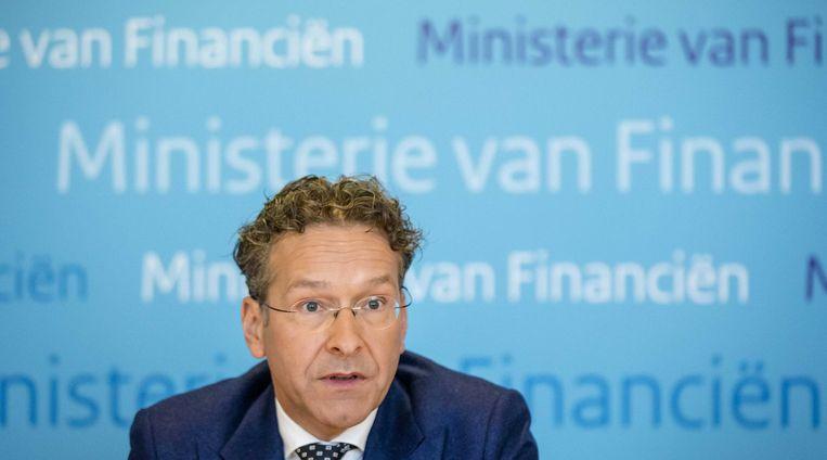 Jeroen Dijsselbloem, Minister van Financiën, 'Pijnlijke afgang' Beeld anp