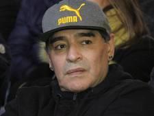 Maradona over complottheorie: 'Ik heb niks te maken met schorsing Messi'