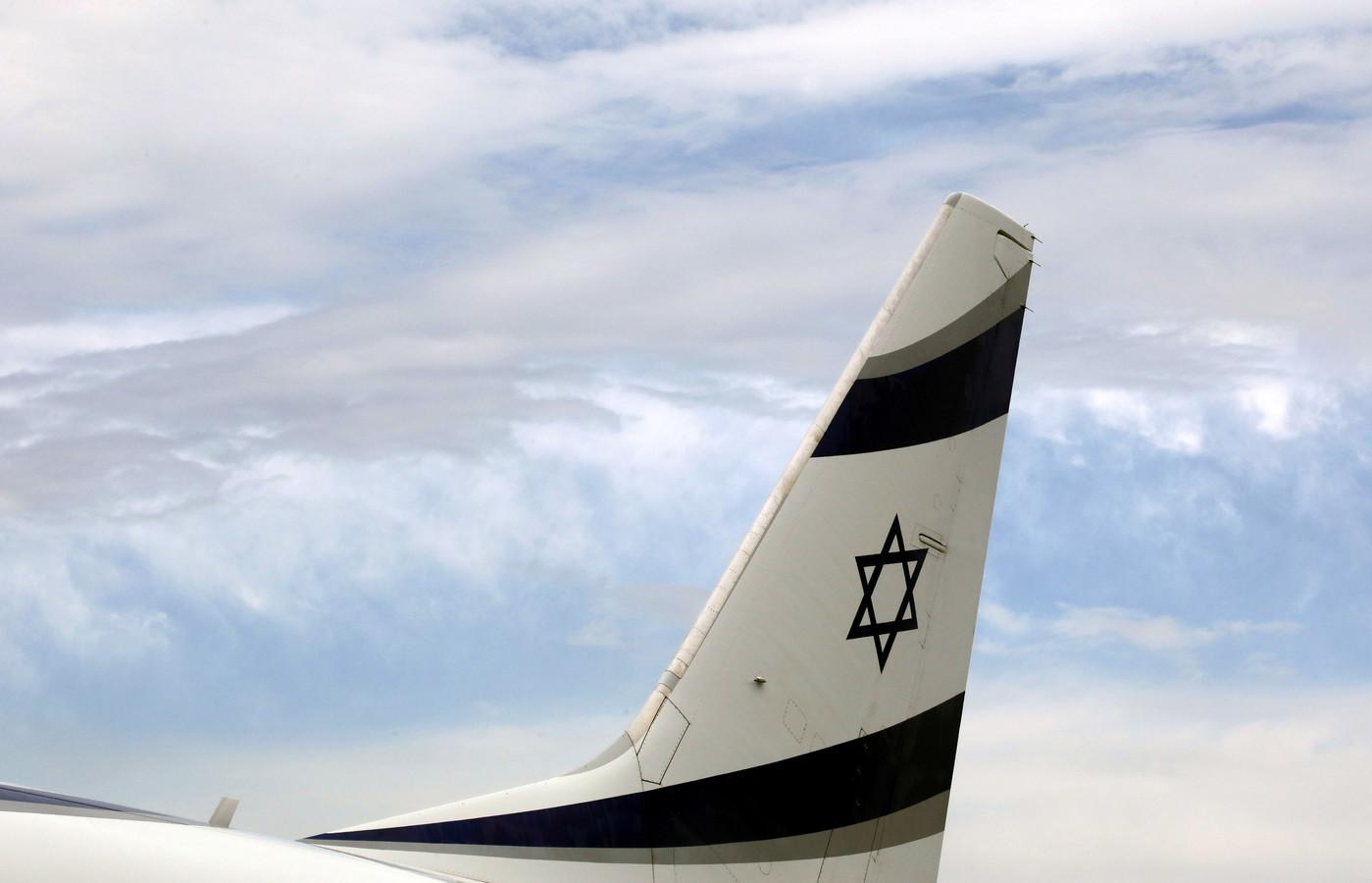 Een toestel van luchtvaartmaatschappij El Al