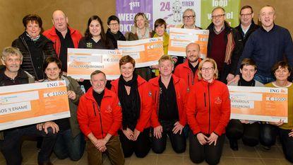 24 uren van Oudenaarde verdeelt 55.000 euro onder vijf goede doelen