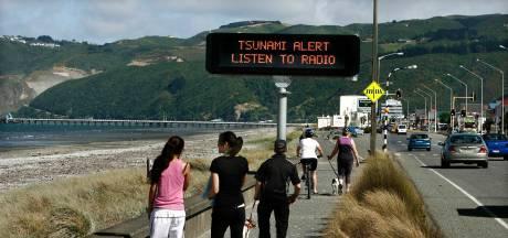 Tsunami-alarm na zeebeving bij Nieuw-Zeeland opgeheven