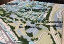 Een eerste studie van het plan Park Langendijk.