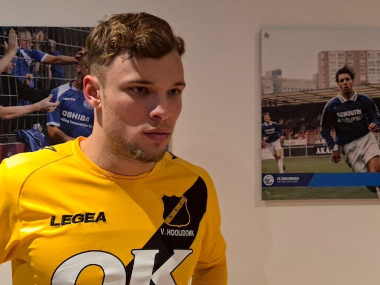 NAC-spits Van Hooijdonk: 'We verliezen twee keer van de nummer twintig, dat is een schande'