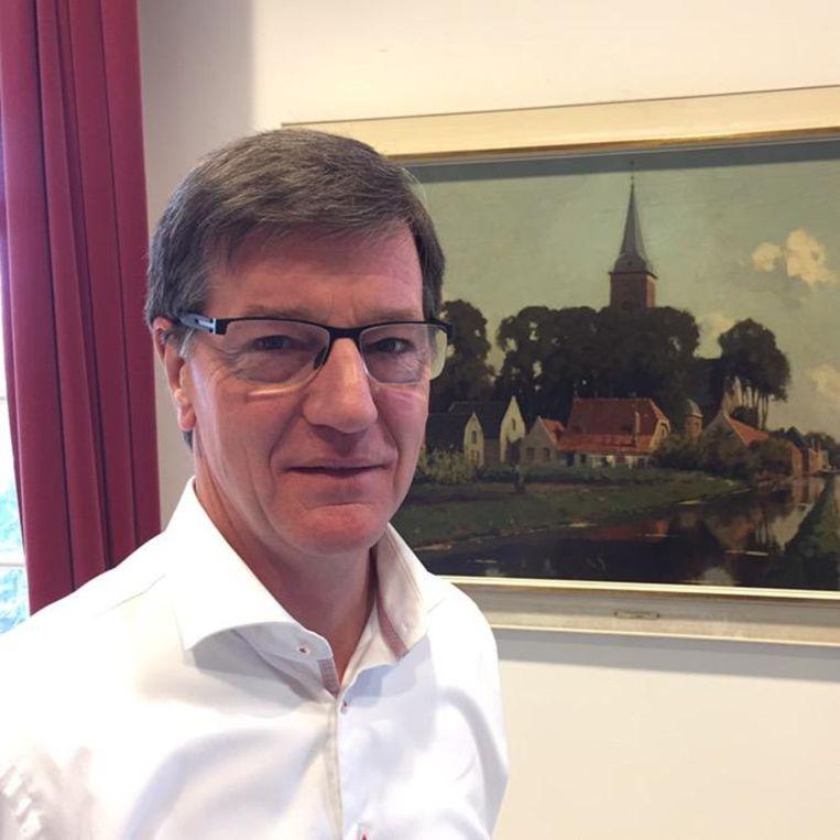 Wethouder Pieter de Groene Beeld