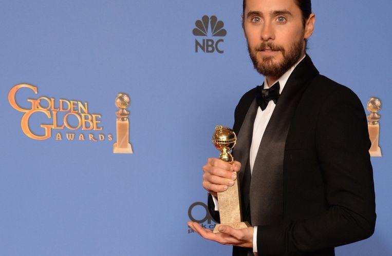 De prijs voor beste mannelijke bijrol ging naar Jared Leto. Beeld afp