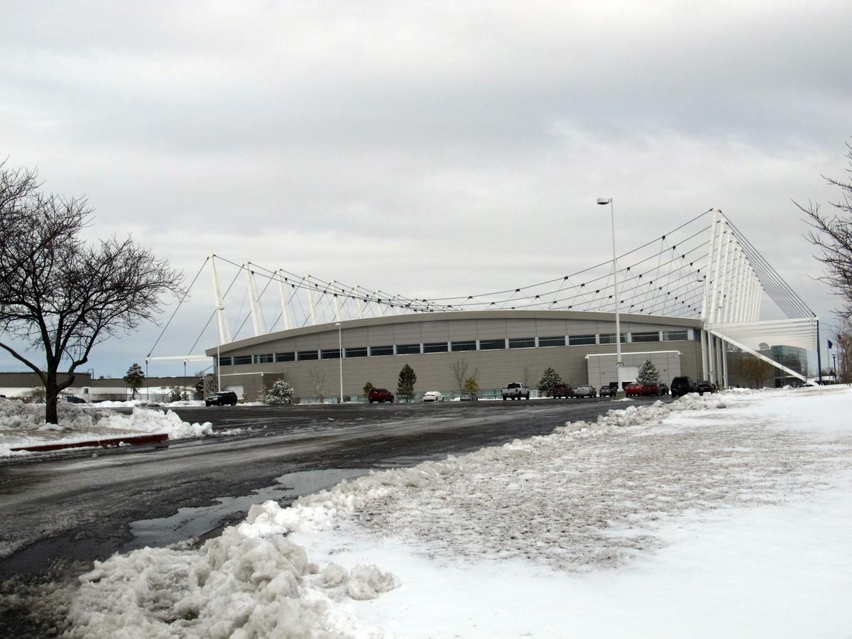 De Olympic Oval van Salt Lake City.