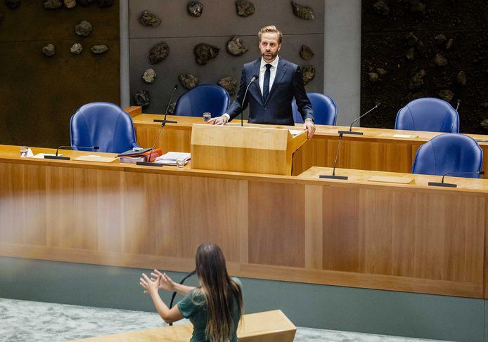 Minister De Jonge Kamerlid Lisa Westerveld (GroenLinks).