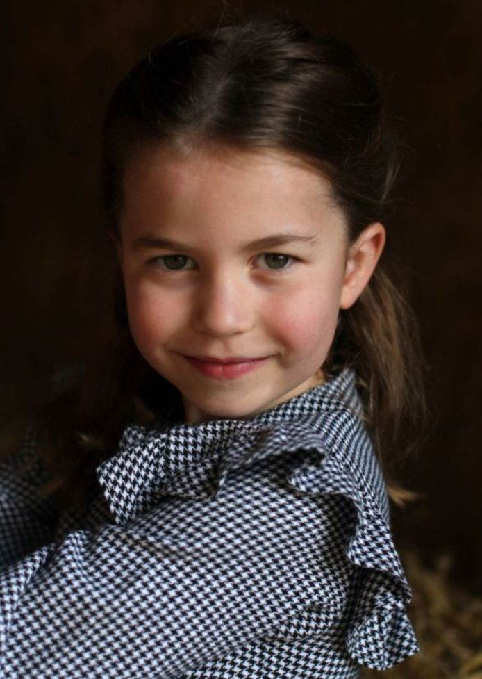 La princesse Charlotte en 2020