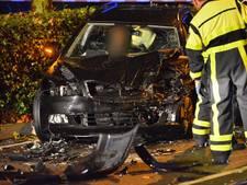 Twee zwaargewonden bij frontale botsing in Breda