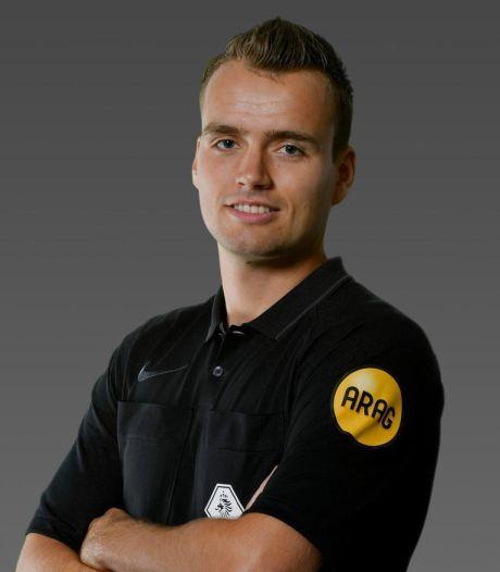 Robin Vereijken (26) maakt de stap naar het betaald voetbal, niet als 'middelmatige back', maar als scheids