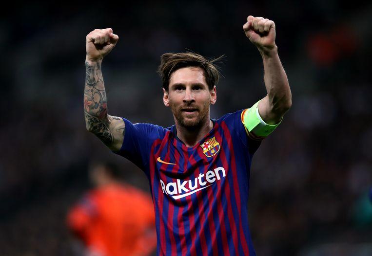 Lionel Messi. Beeld Hollandse Hoogte / PA Images  / Alamy