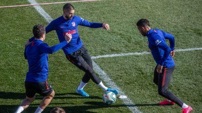 """Carrasco traint al meteen mee bij 'nieuwe' ploeg Atlético, Simeone: """"Raakte overtuigd door zijn honger"""""""