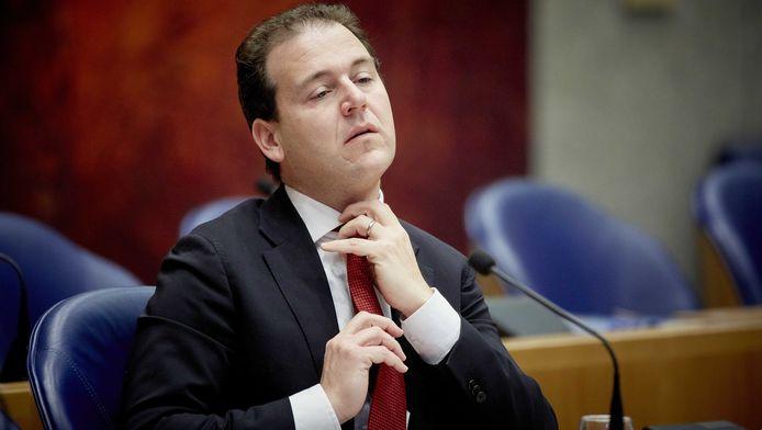 Minister Lodewijk Asscher van Sociale Zaken tijdens een eerder debat in de Tweede Kamer over de gevolgen van de zogenoemde Flexwet.