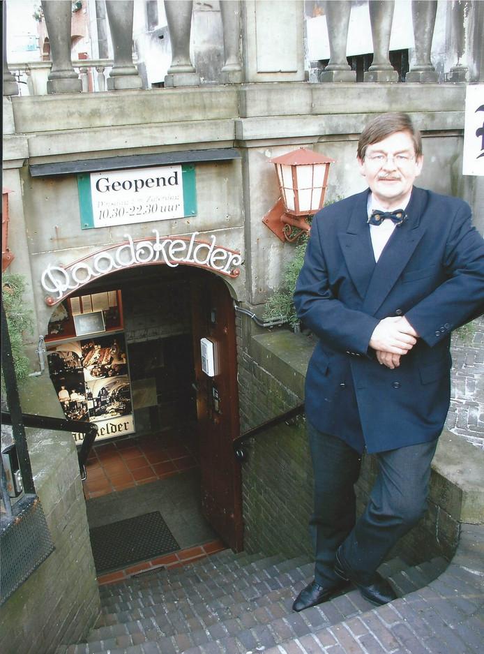 Tonny Rademaker Jr was jarenlang eigenaar van de Raadskelder onder het stadhuis