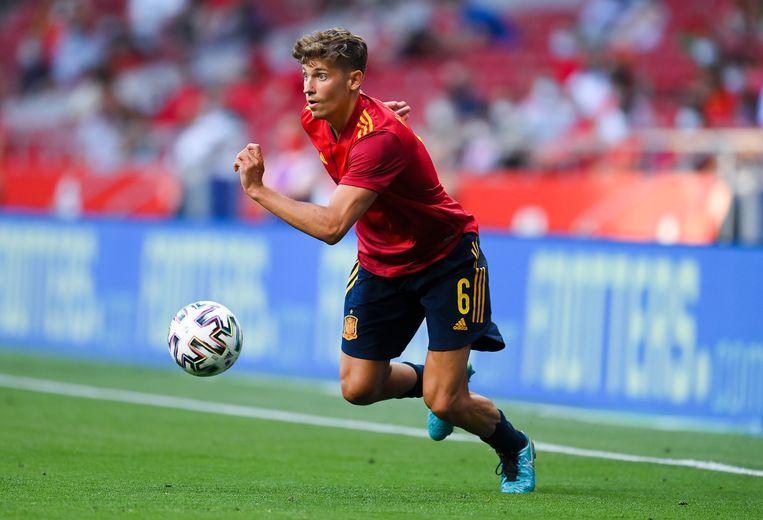 Diego Llorente deed tegen Portugal op 4 juni nog gewoon mee. Beeld Getty Images