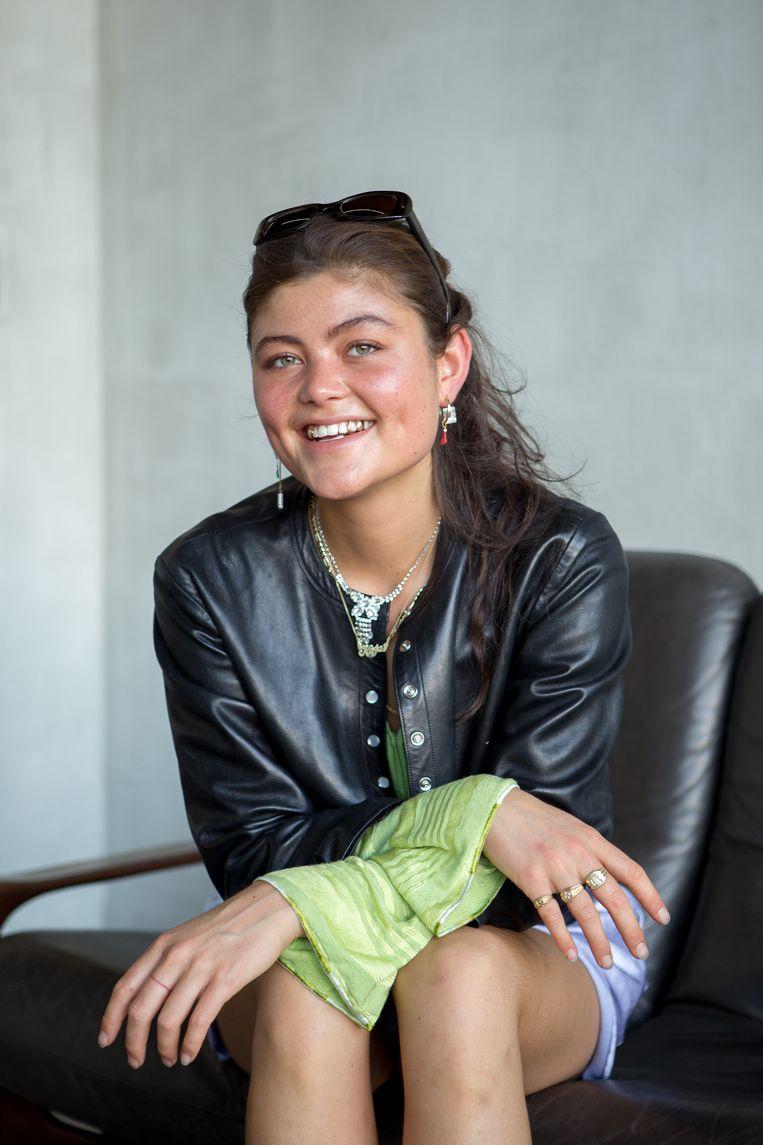 Kaja (18). Beeld Dalal El Ouariachi