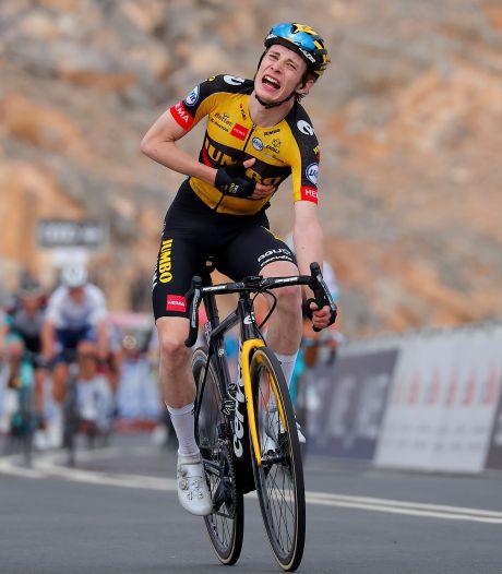 Vingegaard (Jumbo-Visma) wint bergrit in Ronde van de Emiraten
