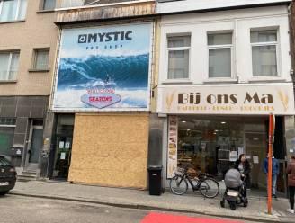 86-jarige bestuurder rijdt door vitrine van winkel in Heilig-Kruisstraat