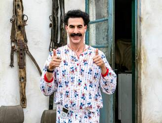 Nieuwe Borat-film dag eerder uitgebracht vanwege ophef rond compromitterende scène met Trumps advocaat